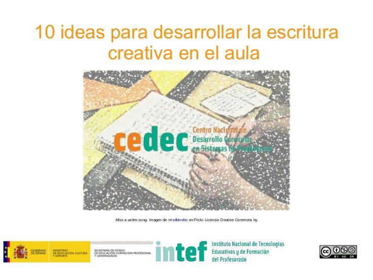 10 ideas para desarrollar la escritura creativa en el aula
