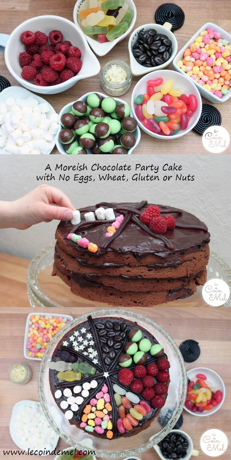 A Moreish Chocolate Cake with No Eggs, Wheat, Gluten or Nuts