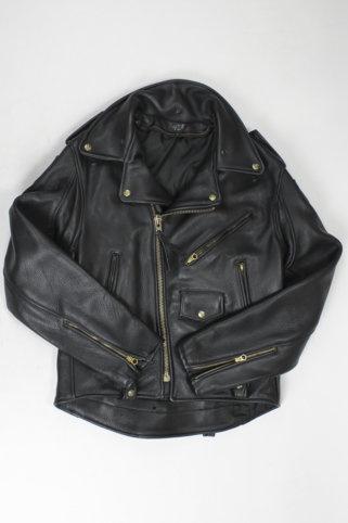 Vintage Leather Police Jacket