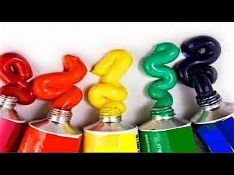 Como Combinar Colores Circulo Cromatico Pintura al Oleo y Pintura Acrilica Pintura Facil - YouTube