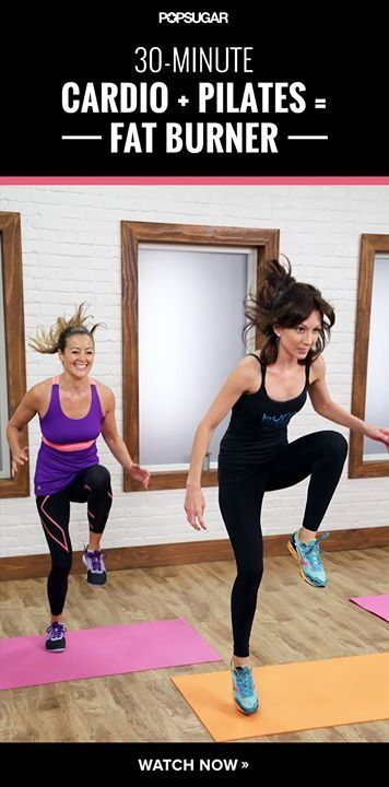 It's time to take your Pilates workout to the next level!  Press play: http://www.popsugar.com/fitness/30-Minute-Pilates-Cardio-Workout-35068924