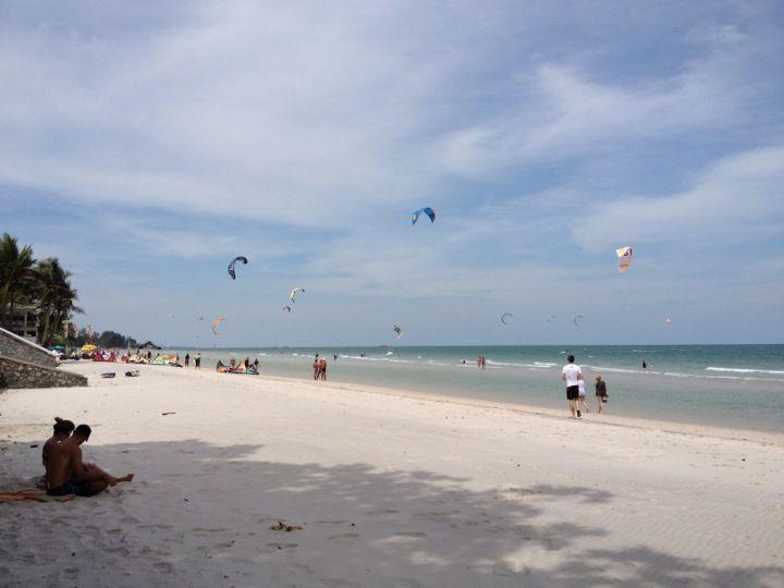 Kiteboarding lessons!