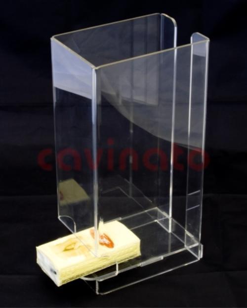 Dispenser in plexiglass - Lavorazione PLEXIGLASS Milano: Cavinato acrylics s.a.s. - Dal 1949 - Espositori, portabrochure, portadepliants