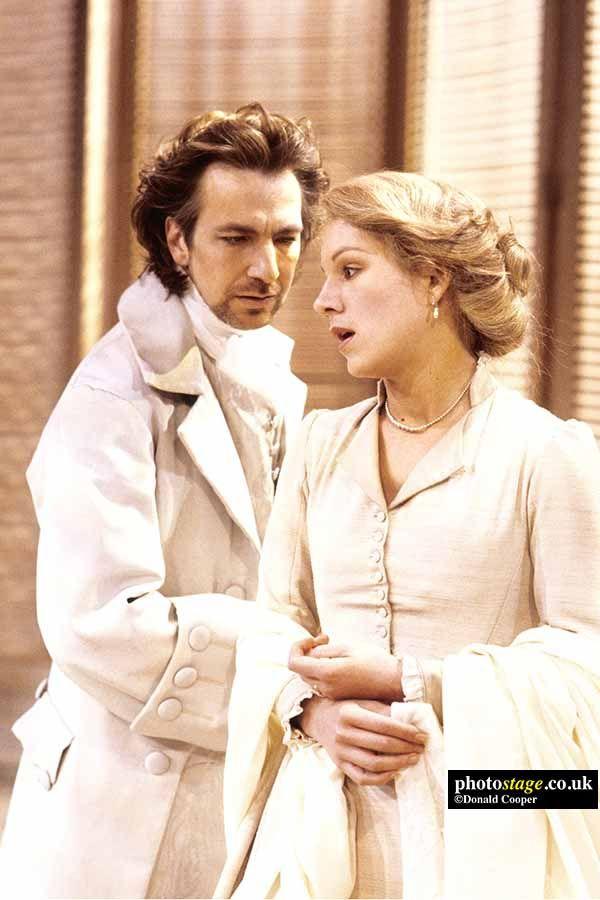 1986 Alan Rickman As Le Vicomte De Valmont With Juliet Stevenson