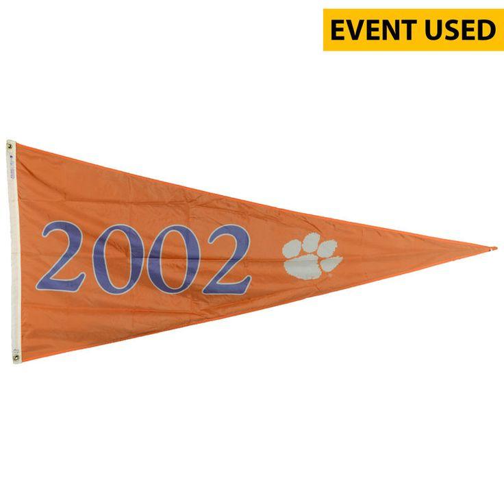 Clemson Tigers Fanatics Authentic Baseball Event-Used 2002 College World Series