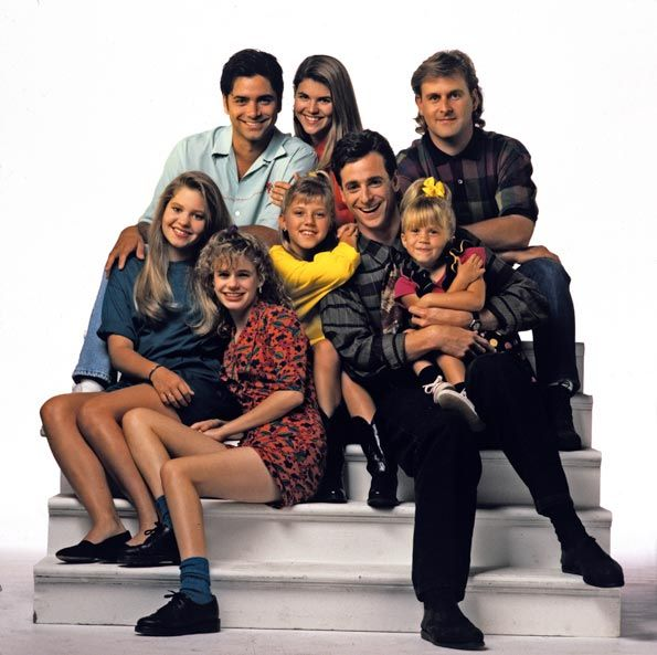 full house cast | Full House' cast reunite for 25th anniversary