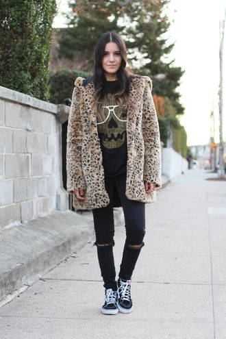 Image result for leopard print coat outfit