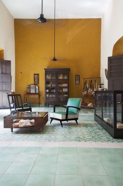 22 Fresh Mint Interiors. Messagenote.com Dutzi Design in Valladolid  Mexico