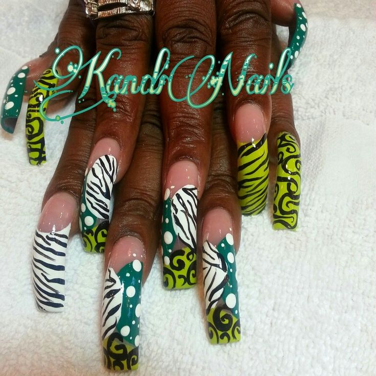 Hand Painted Nail Art Designs: 152 Best Images About Divine Designs By KandiNails On