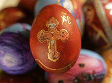 Making Greek Easter Eggs