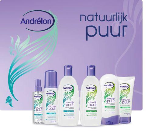 Op de website van Andrélon staat onder het kopje info en tips de campagne Natuurlijk puur uitgewerkt. Je kunt de producten bekijken en er staan tips over hoe je het product het beste kan gebruiken of voor welk haartype het geschikt is.