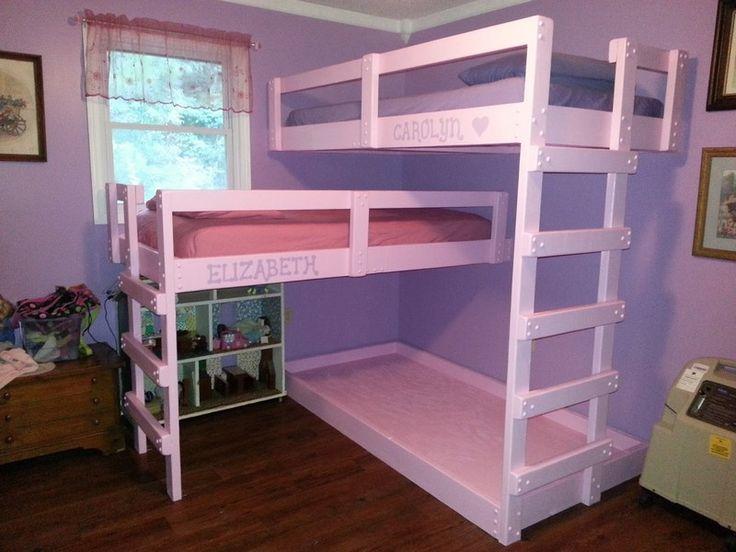 Bunk Bedroom Ideas best 25+ triple bunk bed ikea ideas on pinterest | triple bunk