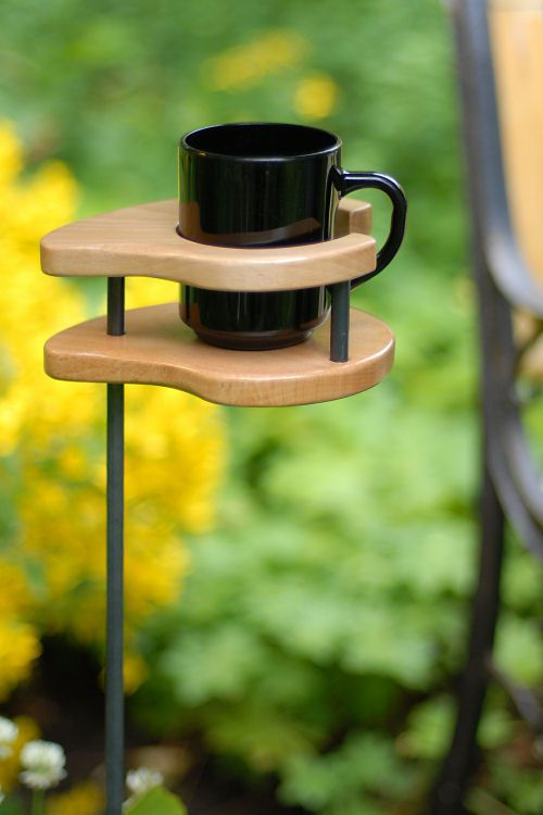 Kaffee im Sommer... toll für's einen Sonntag am See... (Woodworking Garden)