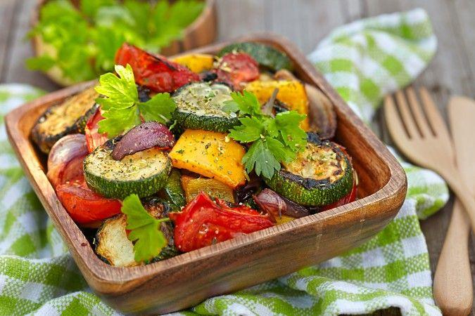 Lemon Pepper Vegetables