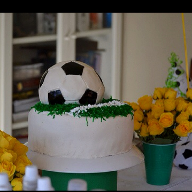 Soccer cake: Bday, Soccer Cakes Should, B Day Cakes, Birthday Cakes