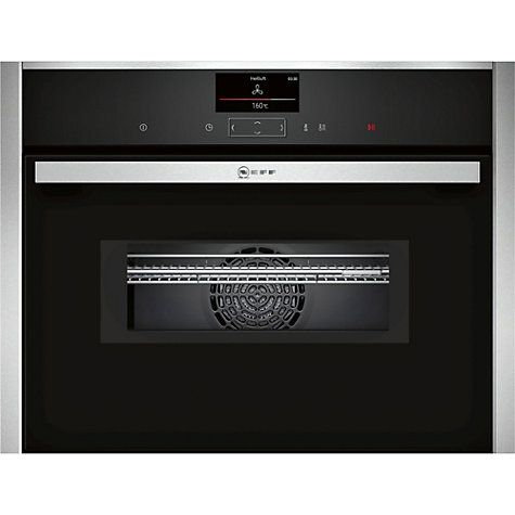 Buy Neff C17MS32N0B Single Electric Oven with Microwave, Stainless Steel Online at johnlewis.com