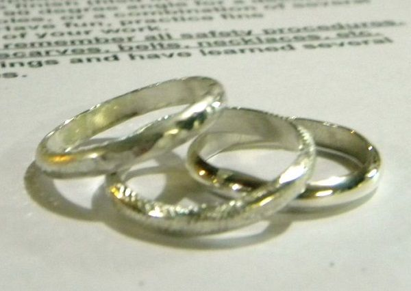 free ring band and stack ring making tutorial - Soldering Made Simple and Easy Ring Making: Create Easy Silver Stack Rings