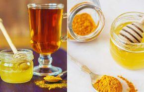 La Ricetta con Curcuma e miele: potente antibiotico naturale contro freddo e mal di gola