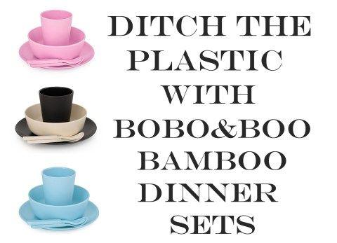 dicth the plastic, boboboo bamboo dinnerware, plastic free, the natural mumma, eco friendly, ditch the plastic,