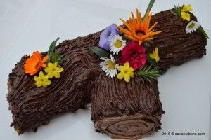 Tort buturuga – trunchi de copac. O reteta veche, din caietul bunicii mele. Un tort festiv, cu crema grilias (crant, krantz) cu nuci pralinate si imbracat in crema de ciocolata cu unt. Cum se monteaza si decoreaza un tort buturuga? Un tort de gala pe care-l mancam la aniversari sau de Craciun. Pe vremuri era