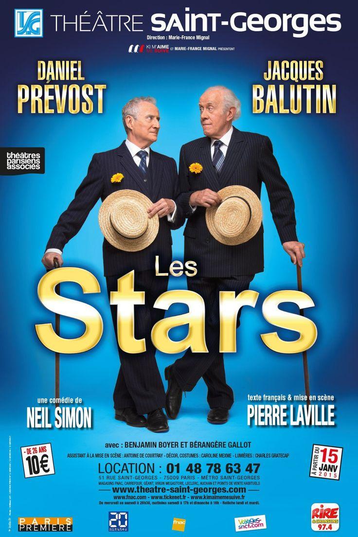Balutin et Prévost de nouveau réunis ! Il aura fallu attendre près de vingt ans pour retrouver sur scène le duo composé de Jacques Balutin et Daniel Prévost, mais aujourd'hui, ils sont là pour vous !