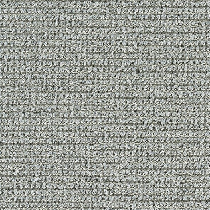 Boucle Grid - Nuage   Bandeau, Presse and Boucle Grid are a grouping of textural solids created from weave structures developed in Suzanne Tick's studio. These three companion panel and wall fabrics comprise a texture scale study that is colored to work together.Boucle Griduses two scales of boucle yarns – chunky and fine – to impart its deep texture. All three fabrics are 100% recycled polyester and convey a sense of textural relief, similar to embossing paper or stamping metal.