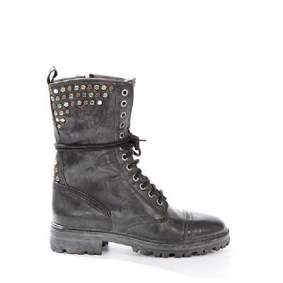 Catarina Martins black lace up boot