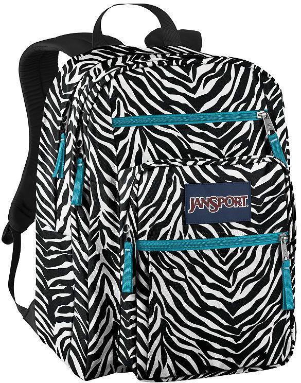 Jansport big student zebra backpack Sold Out thestylecure.com