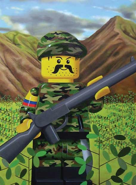 Nadin Ospina Guerrillero Lego