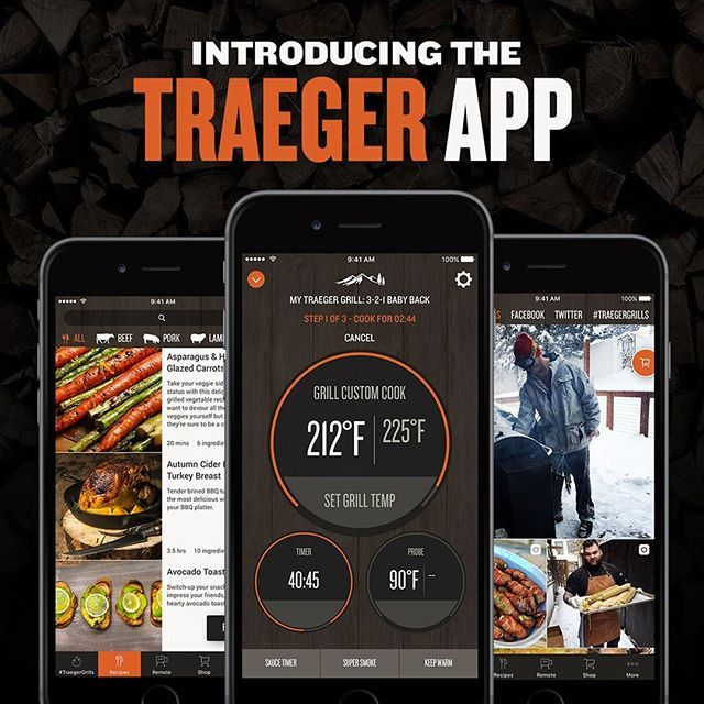 The perfect grilling companion for all Traeger users has arrived. The Traeger App is available now on iOS and Android. You can browse our extensive recipe library, find your local dealer, shop Traeger grills and gear online, and control your WiFIRE enabled grill.
