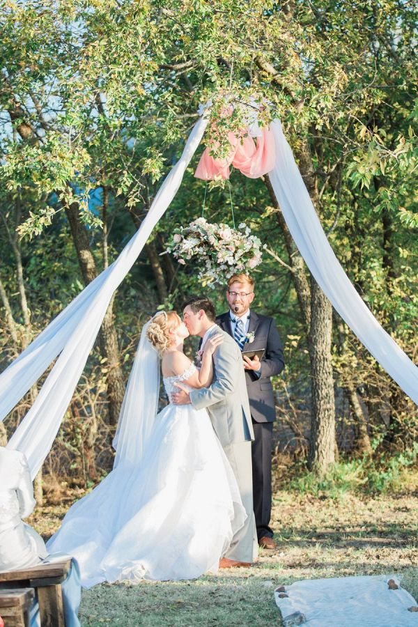 Outdoor ceremony  #wedding #weddings #weddinginspiration #engaged #aislesociety #blushwedding