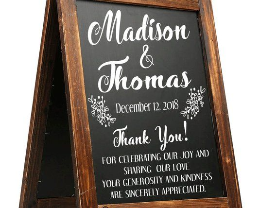 Announce Your Adventure On A Stylish Note Chalkboards And Wedding