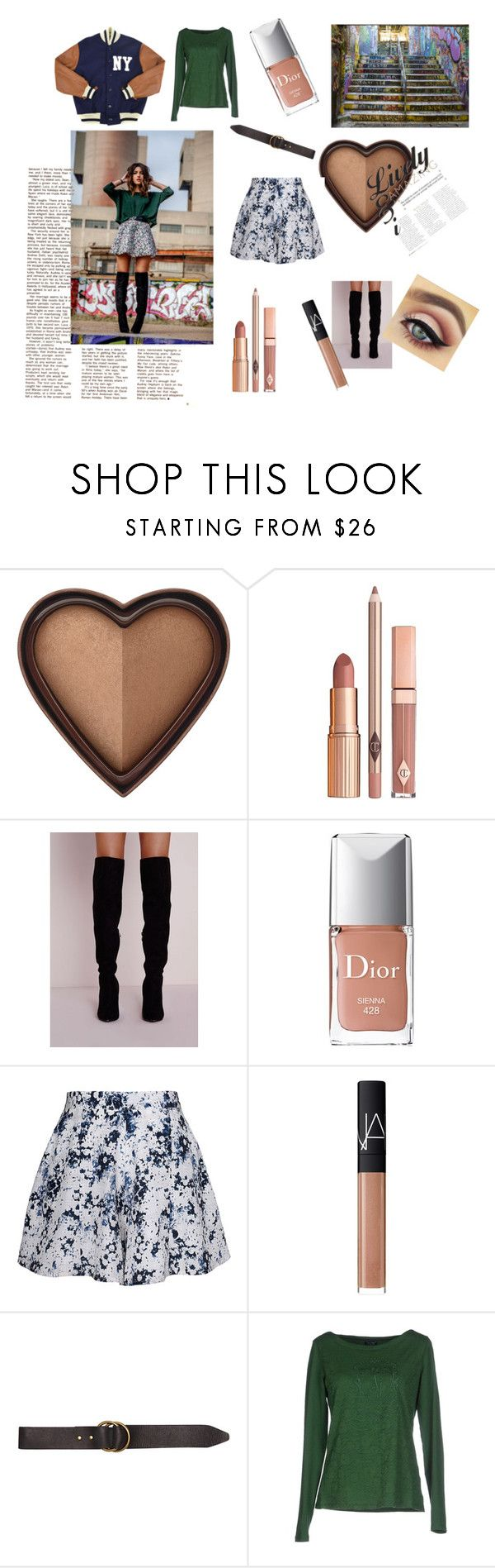 """Fashion Graffiti"" by charmed03 ❤ liked on Polyvore featuring Too Faced Cosmetics, Dolce Vita, Christian Dior, Olive + Oak, NARS Cosmetics, Billabong and Armani Jeans"