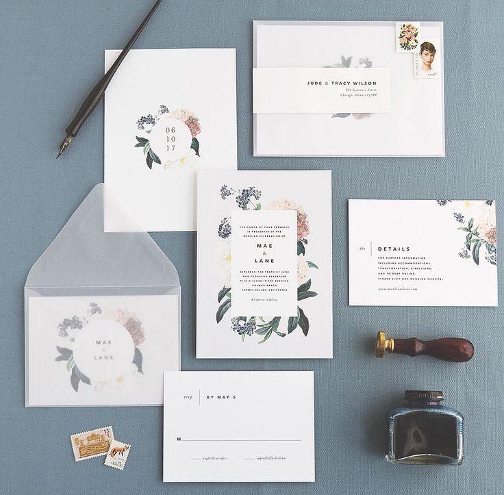 102 best Wedding invitations images on Pinterest | Bridal ...