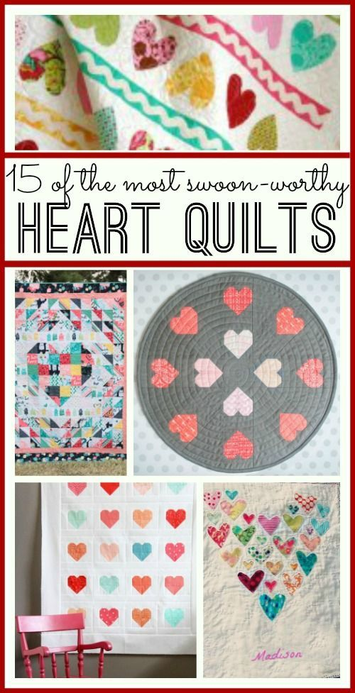 This is a great list - so many AWESOME heart quilts - so so cute!!