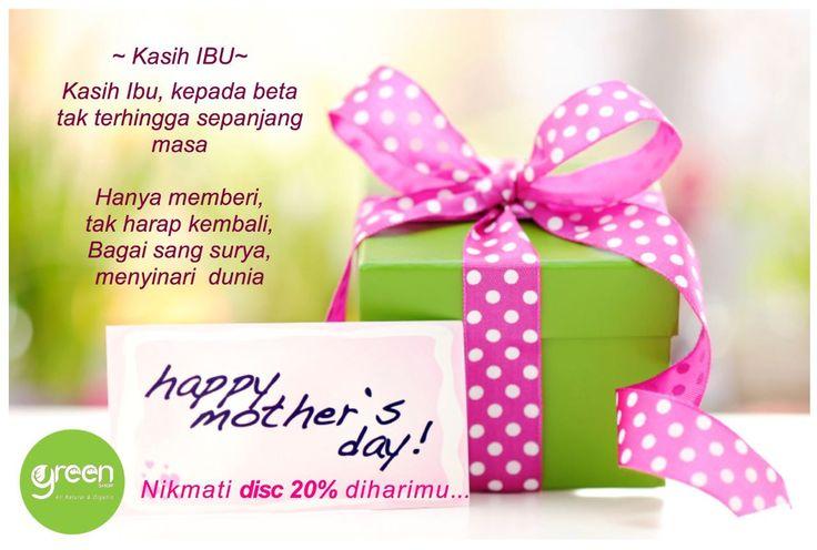 MOMs, enjoy 20%OFF on your special day 🎉💝😘 #naturalskincare  #naturalbeauty  #organicskincare  #greenshopinfo  #mothersdayoffer  #hariibu #hariibu2016  #momtomom  #mom2mm