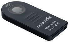 Digipower - Wireless Remote for Select Nikon Dslr and Nikon Coolpix Cameras