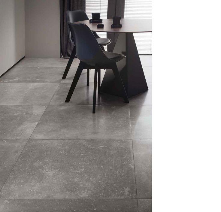 Vloertegels 80x80 cm kronos carriere gent kronos tegels pinterest more interiors ideas - Italiaanse imitatie vloertegel ...