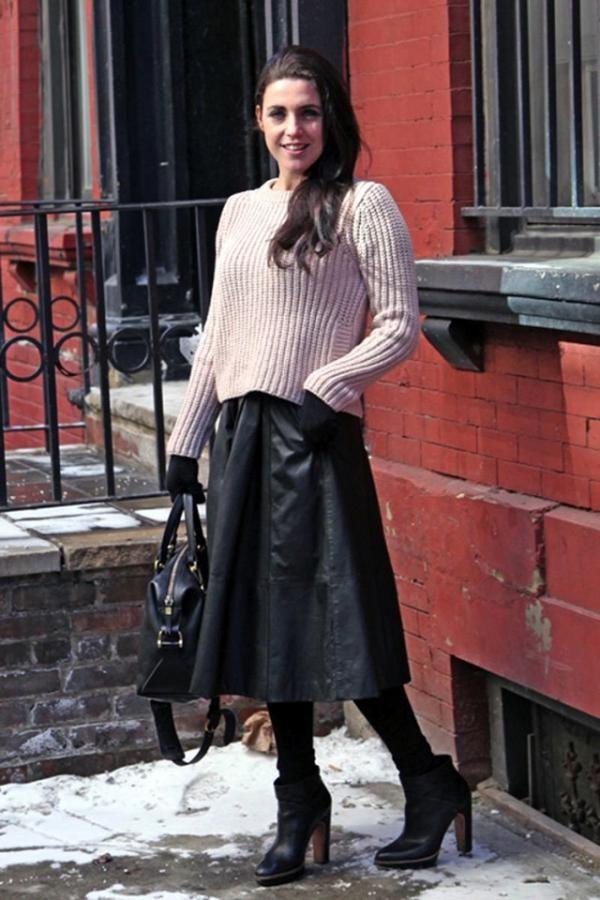Galéria: Így viseld a szoknyát télen! 8 menő outfit ötlet / JOY.hu