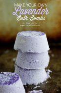 DIY Lavender Bath Bombs   via www.makeit-loveit.com