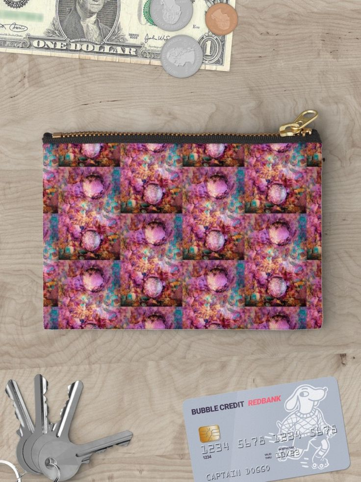 Riveting by Leslie Montgomery  Studio Pouch  https://www.redbubble.com/people/lmontgomery/works/29452472-riveting