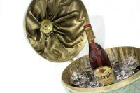Dujardin wereldbol met cognac bar Uiterst zeldzaam fifties