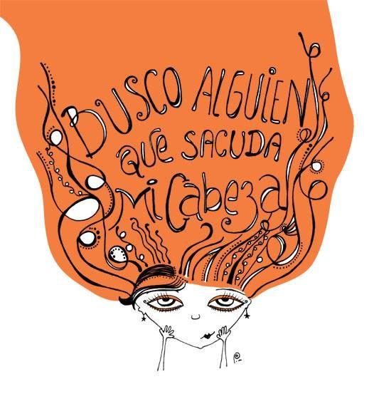 """Busco alguien que sacuda mi cabeza"" - Soda Stereo, si, SI!"