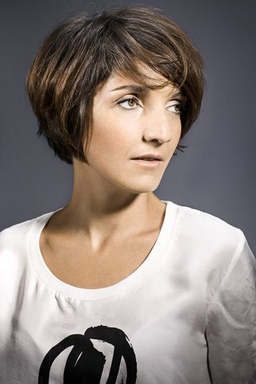 Florece foresti peoples Florence foresti, Cheveux