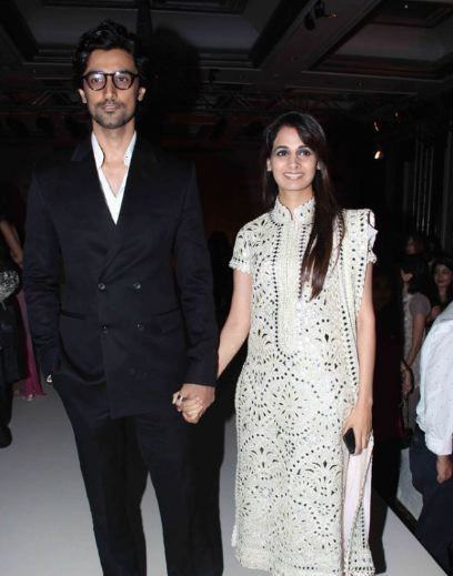 After a hush-hush ceremony in Seychelles in February, Kunal Kapoor and Naina Bachchan celebrated their nuptials with a grand reception in Delhi.