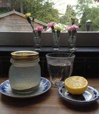 Detox ochtendritueel met citroenwater en Sole