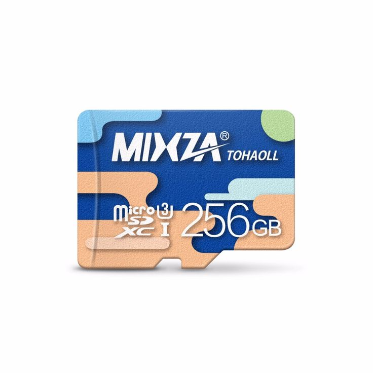 MIXZA Memory Card 256GB U3 128GB  64GB  micro sd card Class10 UHS-1 flash card Memory Microsd for Smartphone/Tablet