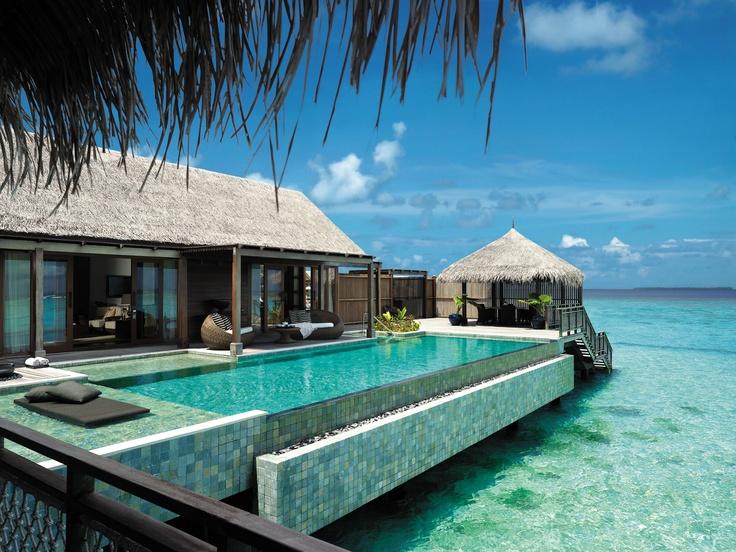 Private oasis in Maldives.