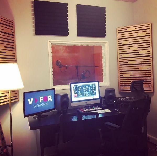 V FOR POST PRODUCTİON için hayırlı olsun @vforpost #akustik #music #design #acoustic #akustikpanel #basstrap #diffisor #flatwoodpro60 #studio