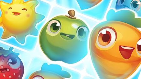 Happy fruits - Farm Heroes Saga